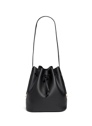 Main View - Click To Enlarge - Sophie Hulme - 'Gibson' leather bucket bag