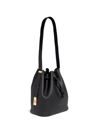 Figure View - Click To Enlarge - Sophie Hulme - 'Gibson' leather bucket bag