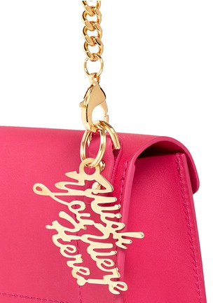 Detail View - Click To Enlarge - Sophie Hulme - 'Nano' leather envelope crossbody bag