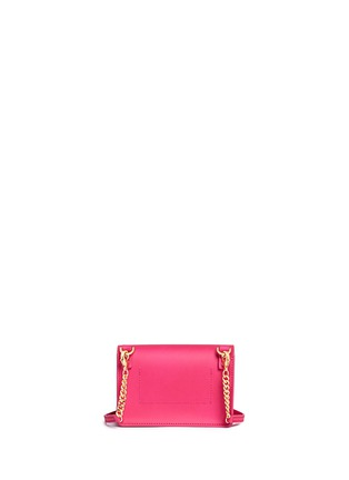 Back View - Click To Enlarge - Sophie Hulme - 'Nano' leather envelope crossbody bag
