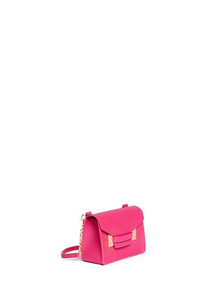 Figure View - Click To Enlarge - Sophie Hulme - 'Nano' leather envelope crossbody bag