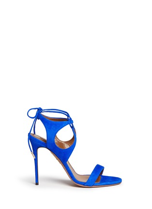 Main View - Click To Enlarge - Aquazzura - 'Colette' lace-up sandals