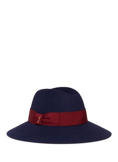 Borsalino'Claudette' wide brim felt hat
