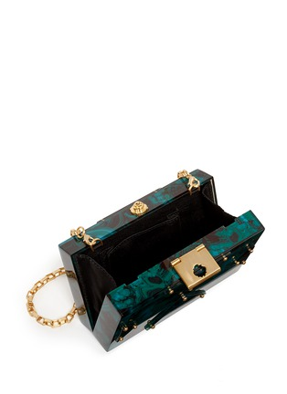 Detail View - Click To Enlarge - RAFÉ - 'Alicia' acetate box clutch