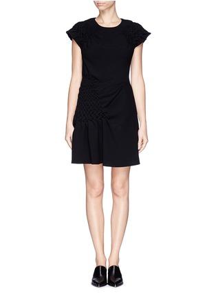 首图 - 点击放大 - 3.1 PHILLIP LIM - Smock panel matelasse dress