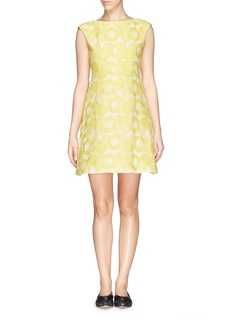 TORY BURCH'Mariana' floral jacquard dress
