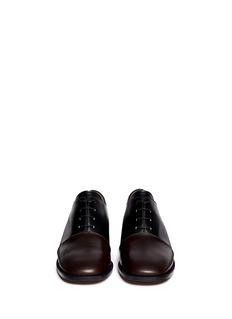 MARNIBi-colour lace up shoes