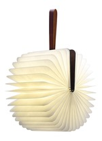 Lumio folding book lamp - Dark Walnut
