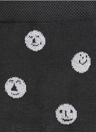 Detail View - Click To Enlarge - HANSEL FROM BASEL - 'Faces' crew socks