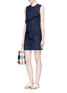 Marysia'Crystal Cove' ruffle anglaise broderie dress