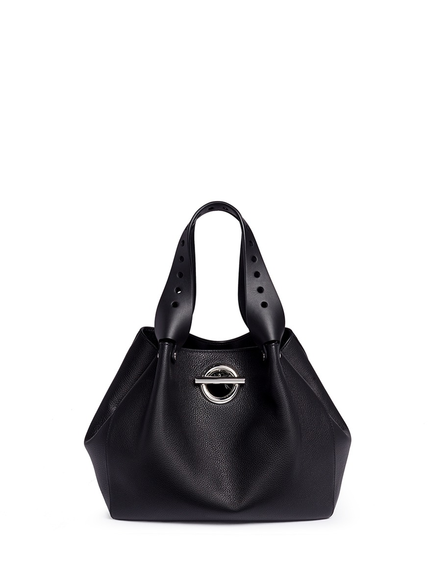 Riot leather tote bag by Alexander Wang