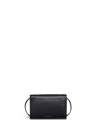 Detail View - Click To Enlarge - Alexander Wang  - 'Riot Double Biker' leather crossbody bag