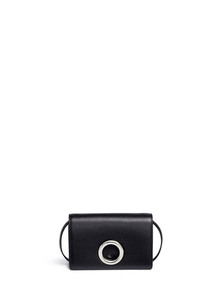 Main View - Click To Enlarge - Alexander Wang  - 'Riot Double Biker' leather crossbody bag