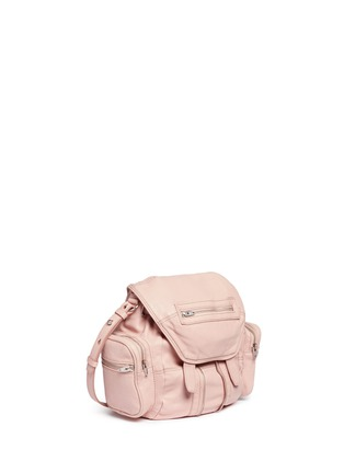 Detail View - Click To Enlarge - Alexander Wang  - 'Mini Marti' lambskin leather three-way backpack