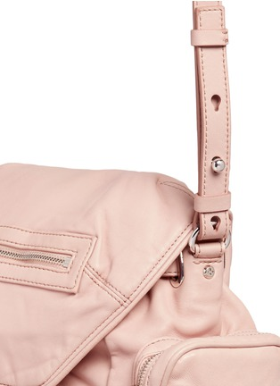 - Alexander Wang  - 'Mini Marti' lambskin leather three-way backpack