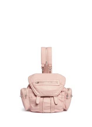 Main View - Click To Enlarge - Alexander Wang  - 'Mini Marti' lambskin leather three-way backpack