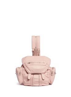 Alexander Wang 'Mini Marti' lambskin leather three-way backpack