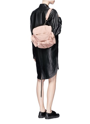 Figure View - Click To Enlarge - Alexander Wang  - 'Mini Marti' lambskin leather three-way backpack