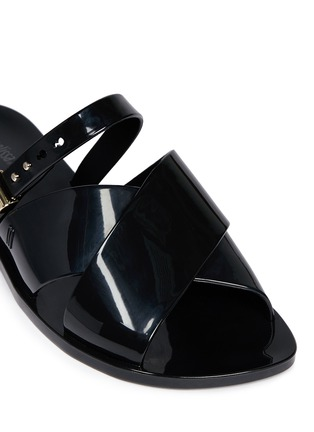 Detail View - Click To Enlarge - Melissa - x Jason Wu 'Diane' cross vamp slides