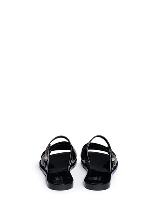 Back View - Click To Enlarge - Melissa - x Jason Wu 'Diane' cross vamp slides