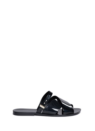 Main View - Click To Enlarge - Melissa - x Jason Wu 'Diane' cross vamp slides