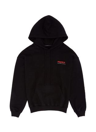 Main View - Click To Enlarge - Studio Concrete - 'Aerospace' unisex hoodie