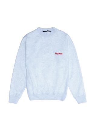 Main View - Click To Enlarge - Studio Concrete - 'Aerospace' unisex sweatshirt