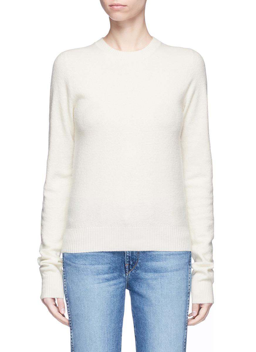 Mari boiled wool sweater by Acne Studios