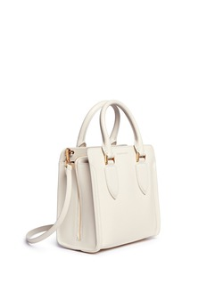 Alexander McQueen'Heroine' small leather open tote