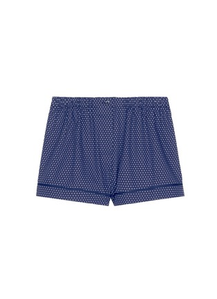 Main View - Click To Enlarge - Araks - 'Tia' polka dot cotton boxer shorts