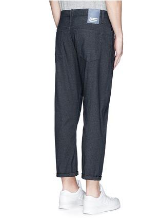 Back View - Click To Enlarge - Denham - 'Crop TBS' denim pants
