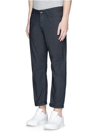 Front View - Click To Enlarge - Denham - 'Crop TBS' denim pants