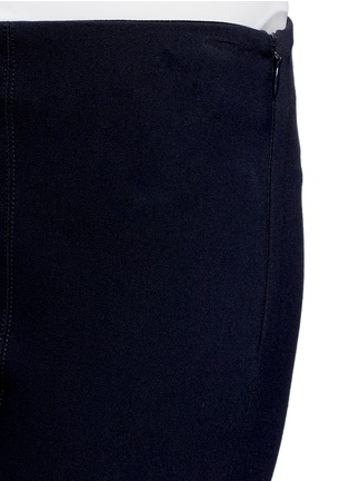 Detail View - Click To Enlarge - Vince - Slim fit cotton blend pants