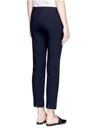 Back View - Click To Enlarge - Vince - Slim fit cotton blend pants