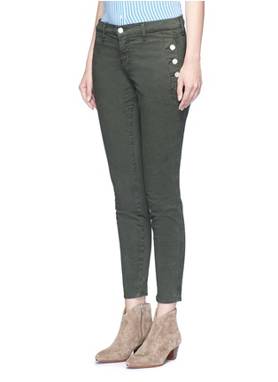 Front View - Click To Enlarge - J Brand - 'Zion' mid rise skinny pants
