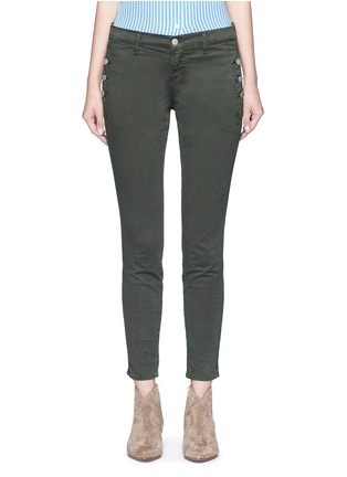 Main View - Click To Enlarge - J Brand - 'Zion' mid rise skinny pants