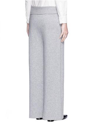背面 - 点击放大 - AGNONA - 低裆羊绒阔腿裤