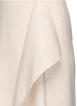 Detail View - Click To Enlarge - The Row - 'Groshong' halterneck drape front alpaca-wool dress