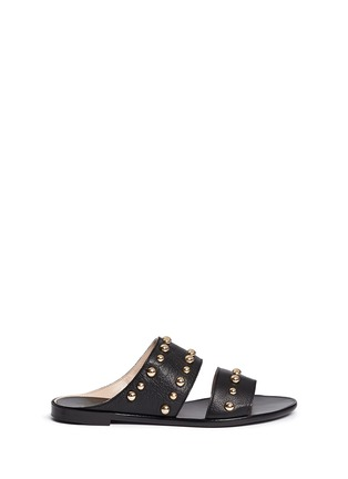 Main View - Click To Enlarge - Lanvin - Dome stud leather slide sandals