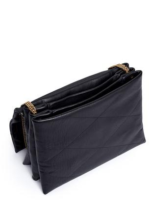 Lanvin-'Sugar' medium quilted leather flap bag
