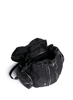 Marti' nylon three-way backpack