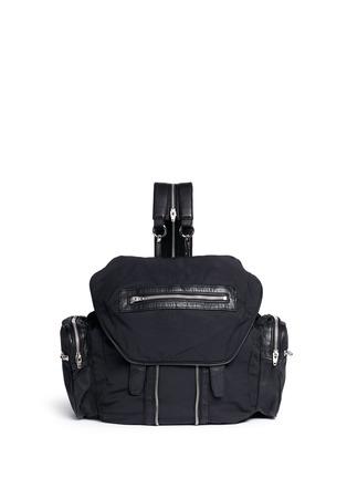 Main View - Click To Enlarge - Alexander Wang  - Marti' nylon three-way backpack
