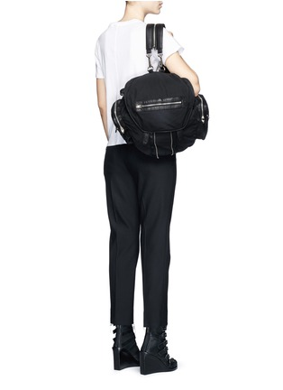 Figure View - Click To Enlarge - Alexander Wang  - Marti' nylon three-way backpack