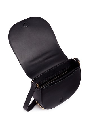 Detail View - Click To Enlarge - Alexander Wang  - Lia' leather saddle sling bag