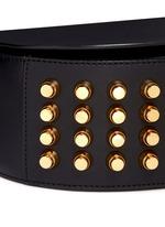 Lia' leather saddle sling bag