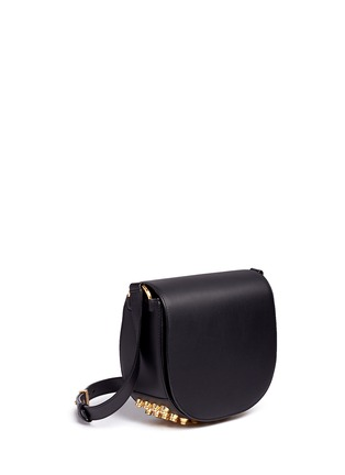 Front View - Click To Enlarge - Alexander Wang  - Lia' leather saddle sling bag