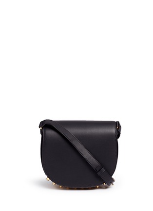 Main View - Click To Enlarge - Alexander Wang  - Lia' leather saddle sling bag