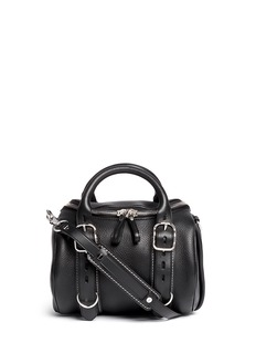 ALEXANDER WANG  'Rockie' buckle strap leather duffle bag