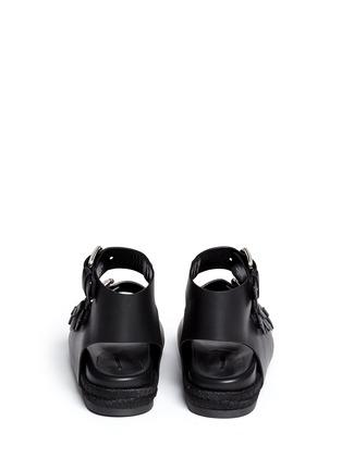 Alexander Wang -'Idina' buckled leather espadrille sandals