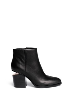 Alexander Wang  'Gabi' cutout heel leather boots